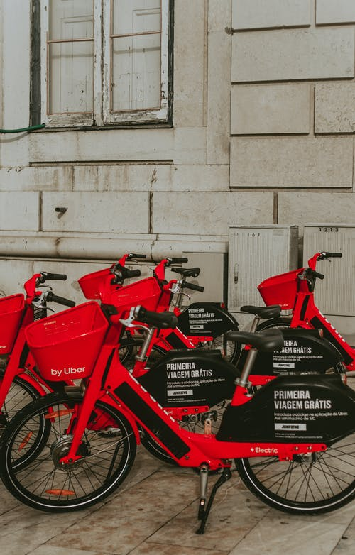Foto stok gratis sepeda, uber