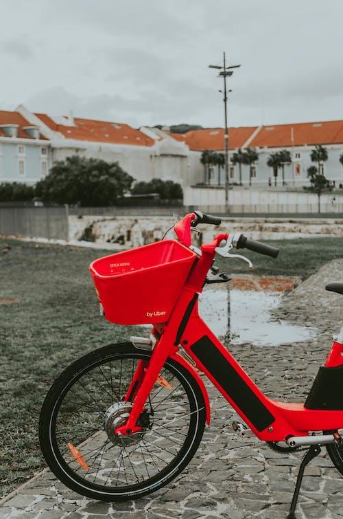Foto stok gratis kendaraan, sepeda, sistem transportasi