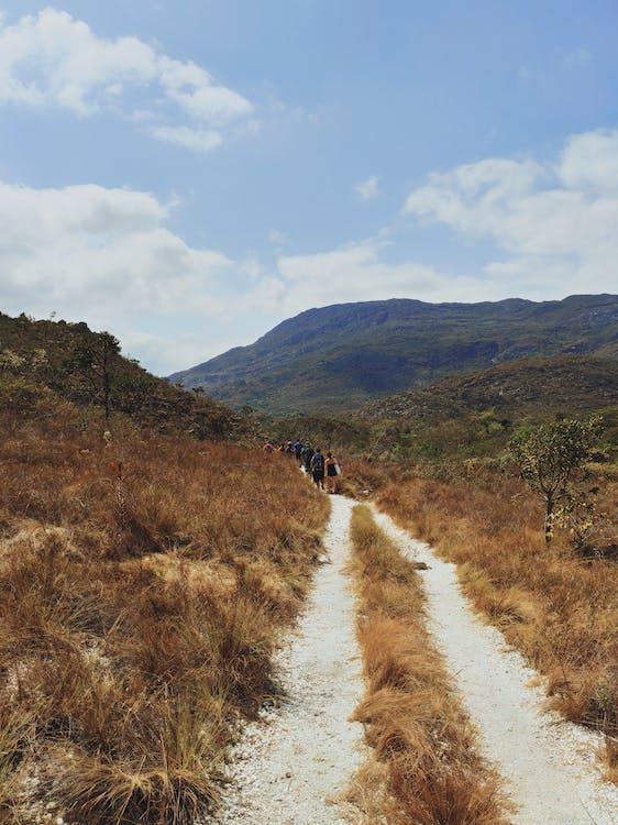 cestování, chodník, chůze