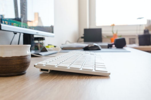 Free stock photo of cup, desk, office, internet