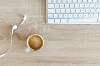 wood, coffee, cup