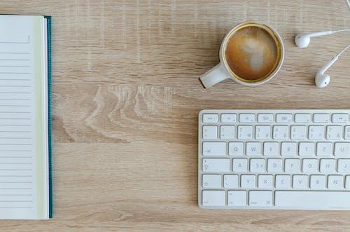 互聯網, 咖啡, 喝, 工作區 的 免費圖庫相片