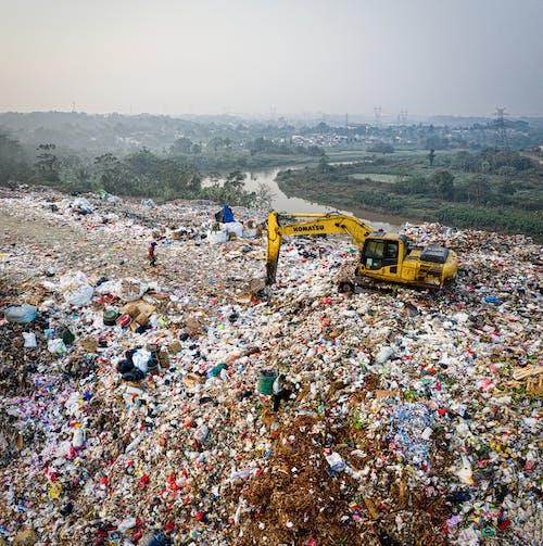 Fotos de stock gratuitas de arena, basura, contaminación, excavadora