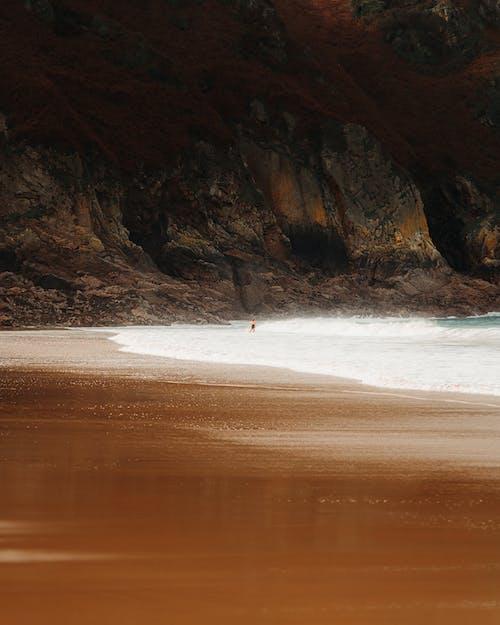 경치, 경치가 좋은, 만, 모래의 무료 스톡 사진