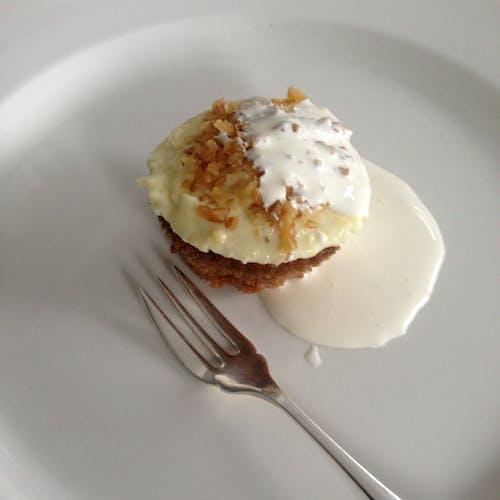 Безкоштовне стокове фото на тему «виделка, десерт, їжа, крем»