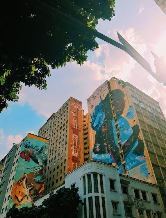 cloudscape, アート, シティ