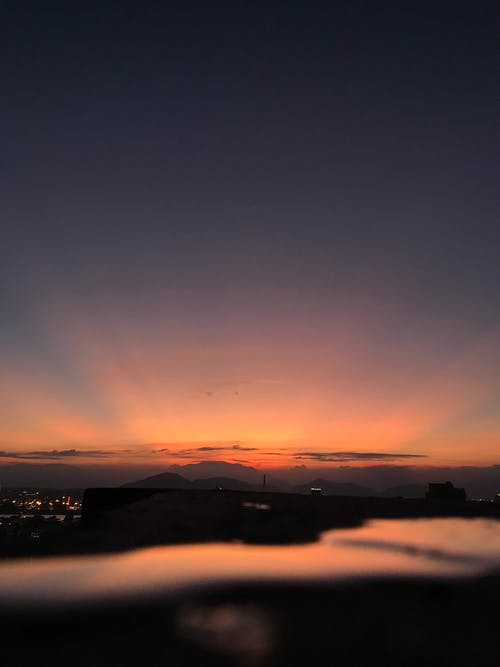 Бесплатное стоковое фото с закат