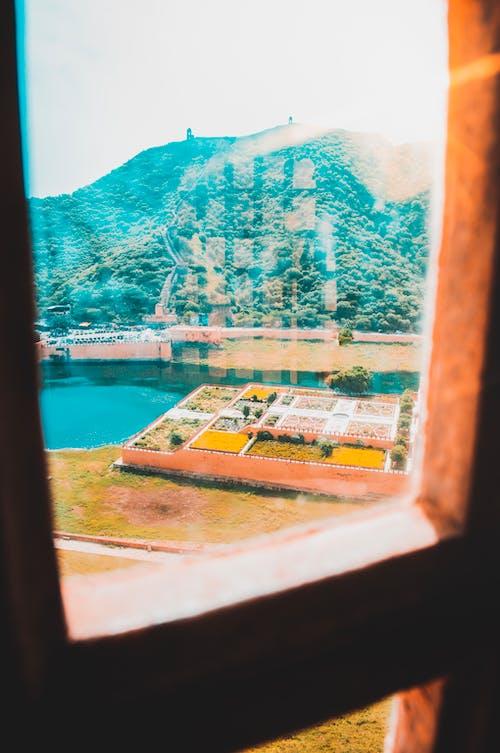 Ilmainen kuvapankkikuva tunnisteilla at, ikkunan läpi, ja, järvi