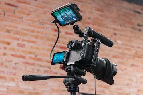 Kostenloses Stock Foto zu ausrüstung, digital, elektrik, filmen
