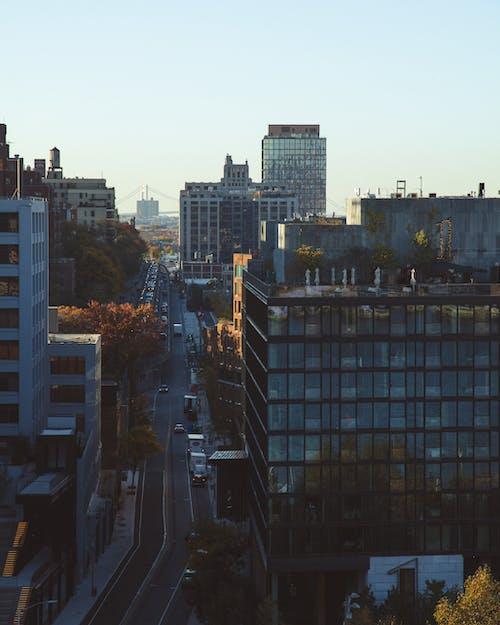Immagine gratuita di skyline, strada