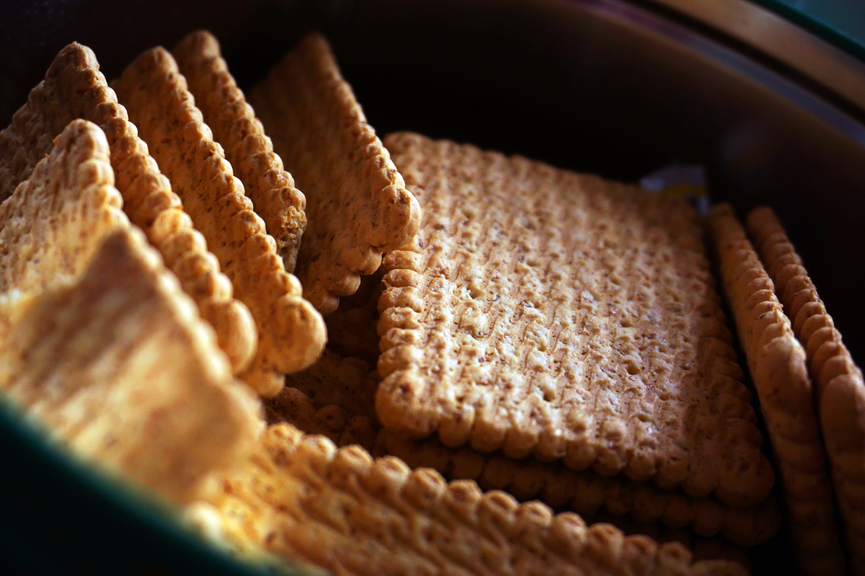 biscuits, blur, close -up