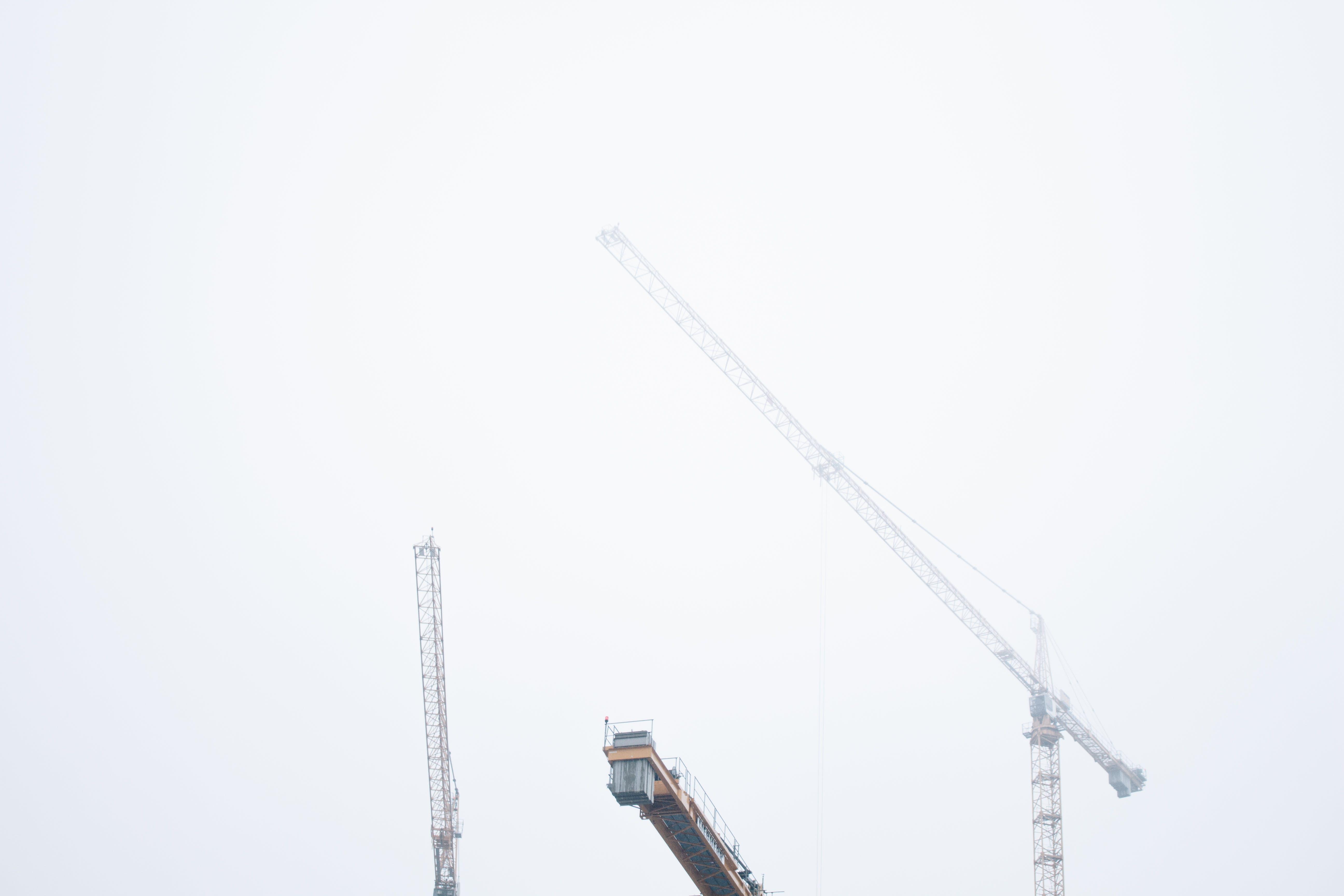 construction, crane arm, cranes