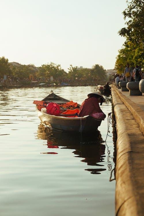 강, 모자, 물, 베트남의 무료 스톡 사진