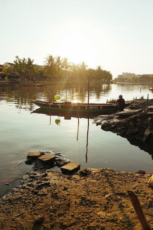 hội an, 강, 구시 가지, 남자의 무료 스톡 사진