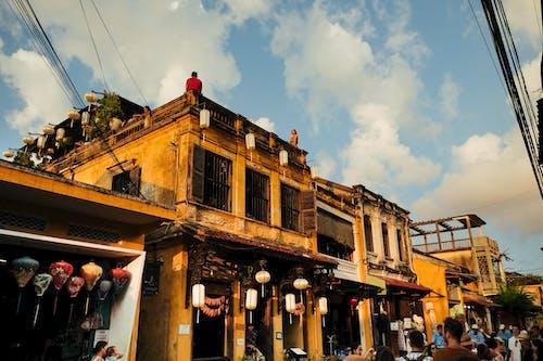 hội an, 구시 가지, 노란색, 베트남의 무료 스톡 사진