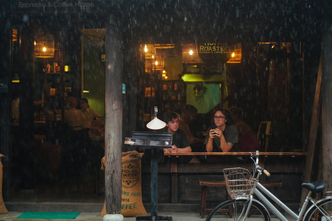 ộan, 咖啡, 多雨的