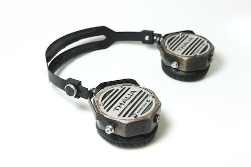 Photos gratuites de audio, blanc, bois, casque