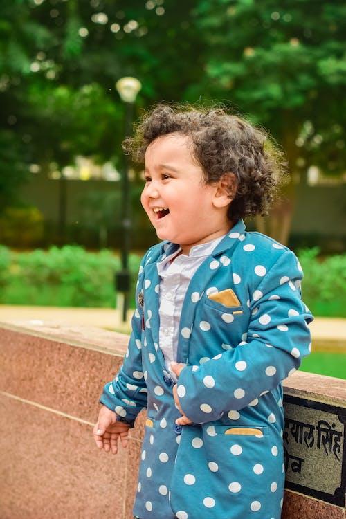 Immagine gratuita di bambino, carino, contento, espressione facciale