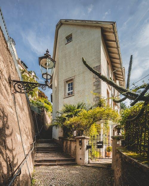 Бесплатное стоковое фото с Аллея, архитектура, булыжная мостовая, булыжник