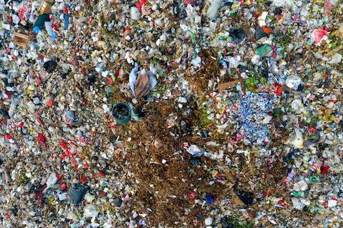 Бесплатное стоковое фото с грязный, загрязнение, камера на дроне, мусор