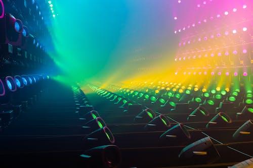 光效, 顏色 的 免费素材照片