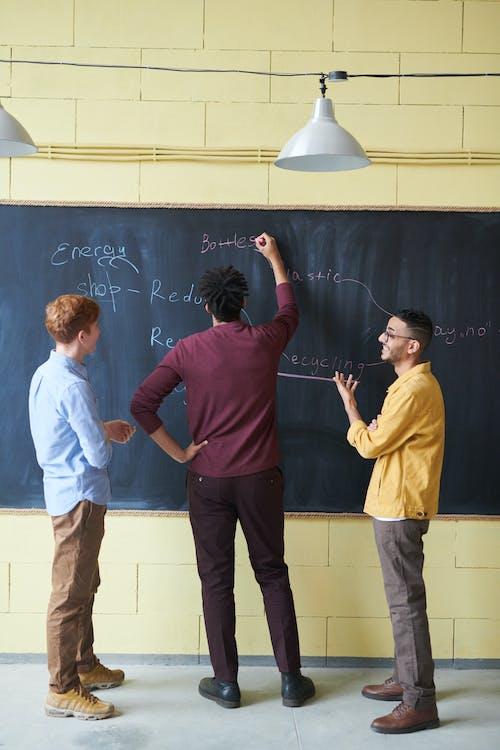 bàn luận, bảng, bảng đen
