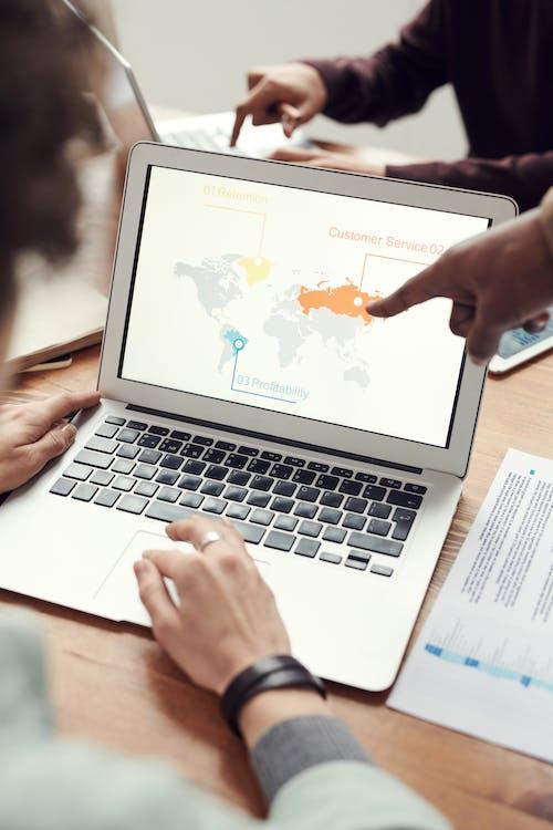 Imagine de stoc gratuită din birou, computer, laptop