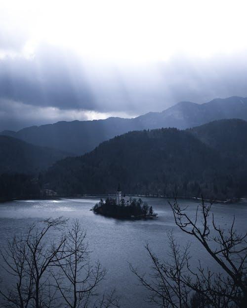 冬季, 天性, 山, 平靜 的 免费素材照片