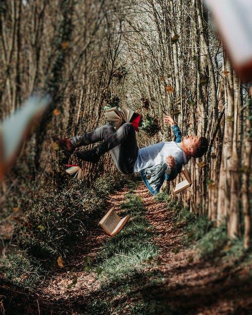 공중 부양, 길, 남자, 떠 있는의 무료 스톡 사진