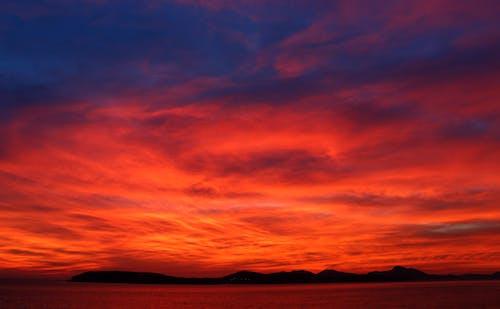 Free stock photo of beautiful sky, Beautiful sunset, island
