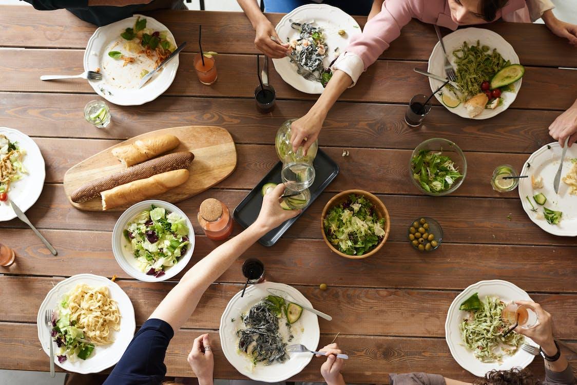 Ingyenes stockfotó asztal, ebéd, egészséges témában