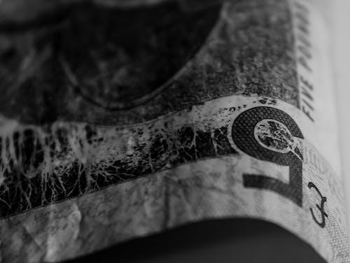 Základová fotografie zdarma na téma abstraktní, abstraktní pozadí, černobílá, peníze