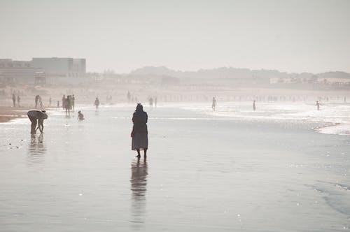 グループ, コールド, コピースペース, さざ波の無料の写真素材