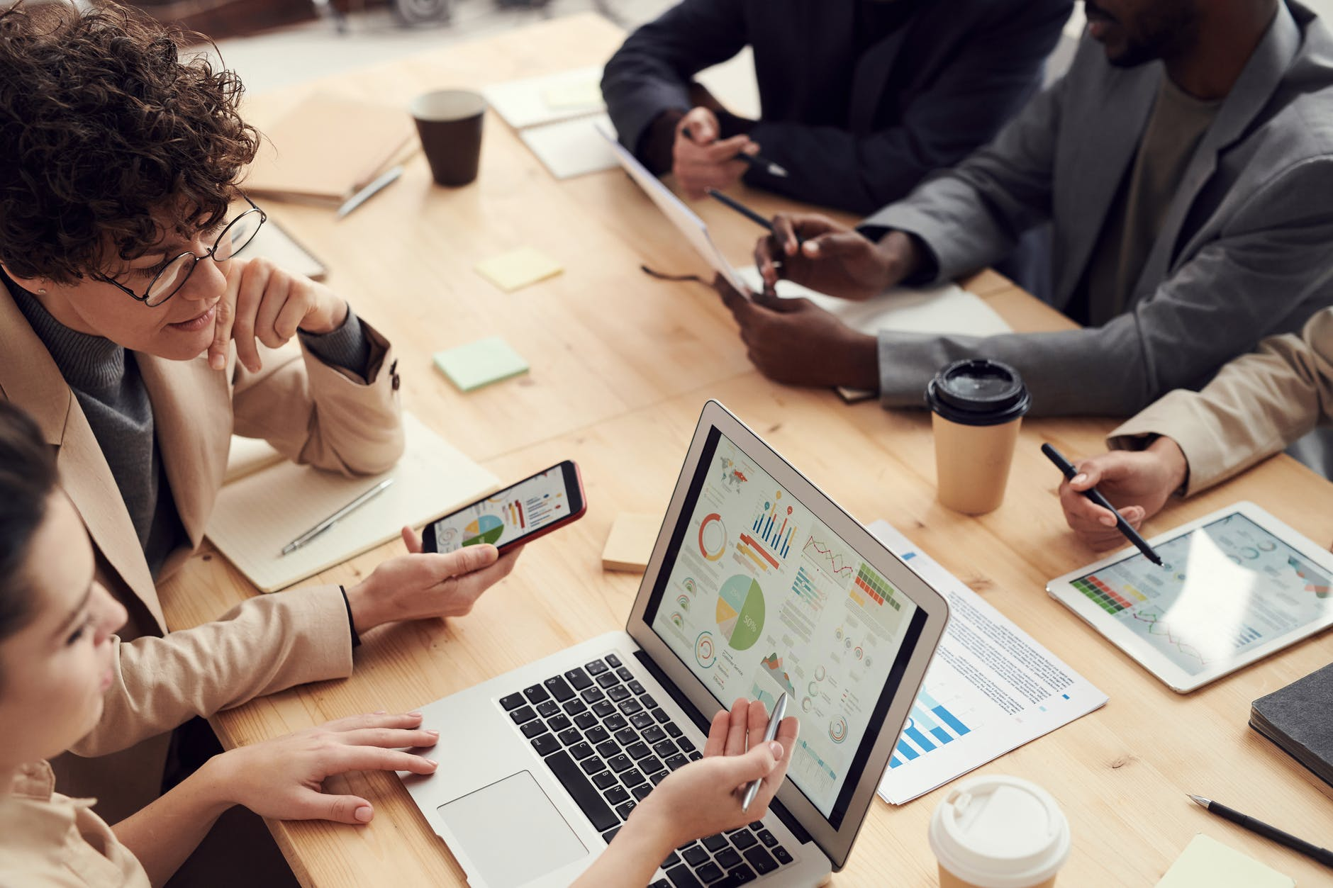 Collaborating on projects improve company culture