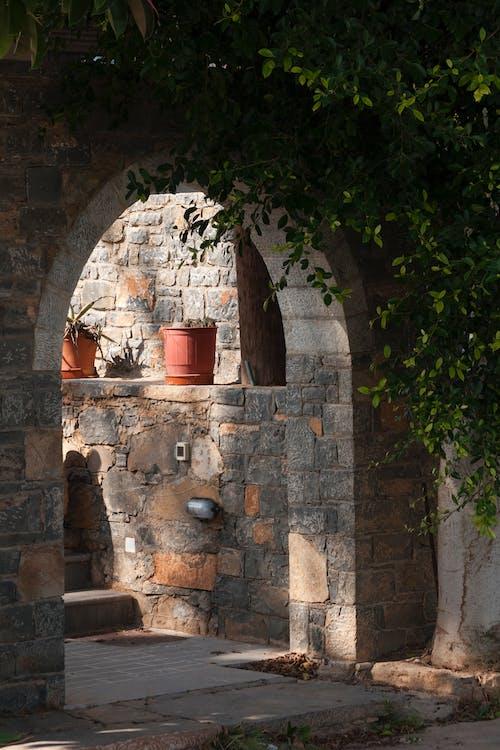 Foto stok gratis alami, anak tangga, Arsitektur, bahan