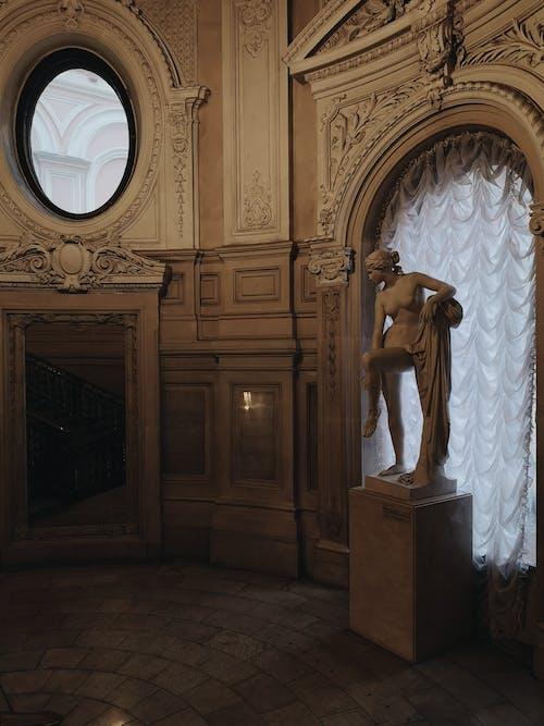 Darmowe zdjęcie z galerii z architektura, ciemny, rosja, rzeźba