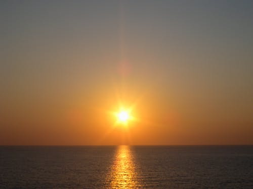 Ingyenes stockfotó gyönyörű naplemente, tirrén-tenger témában