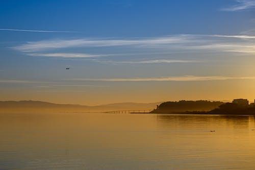 Základová fotografie zdarma na téma jezero, moře, odraz, rozbřesk