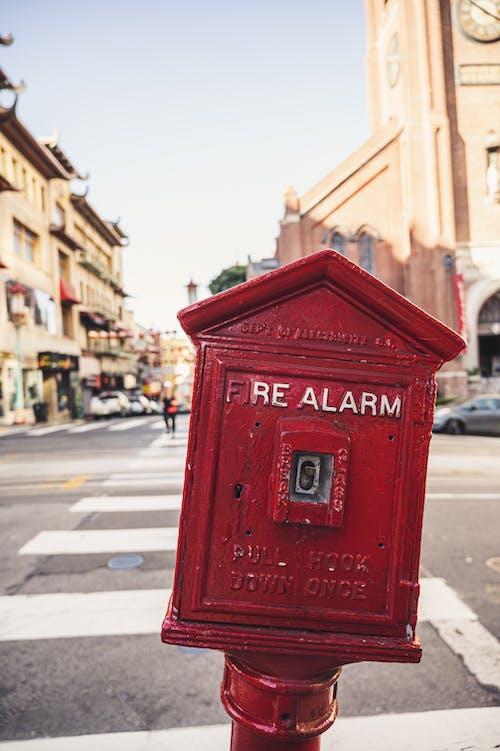 Kostenloses Stock Foto zu alarm, antik, architektur, bürgersteig