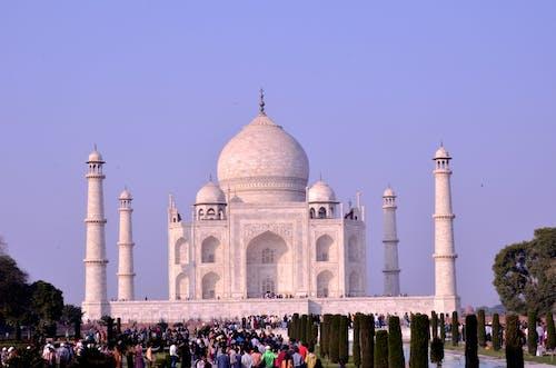 印度, 泰姬瑪哈陵 的 免费素材图片