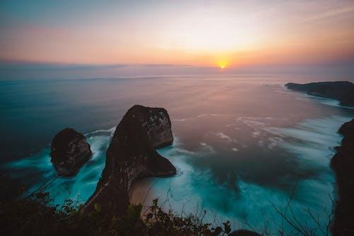 Free stock photo of island, landscape, seascape, sunset