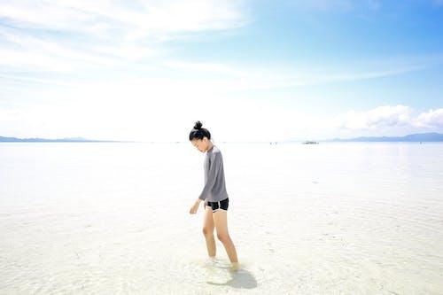 佳能, 免費桌面, 在海邊, 廣角攝影 的 免費圖庫相片