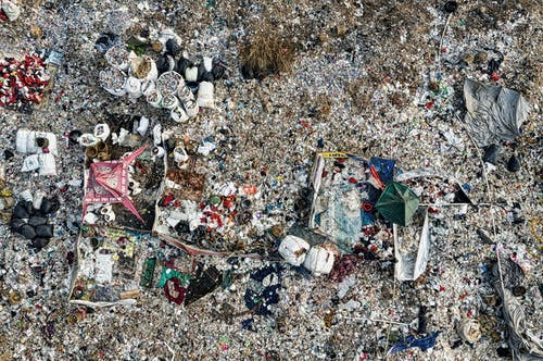 Aerial Footage of a Landfill