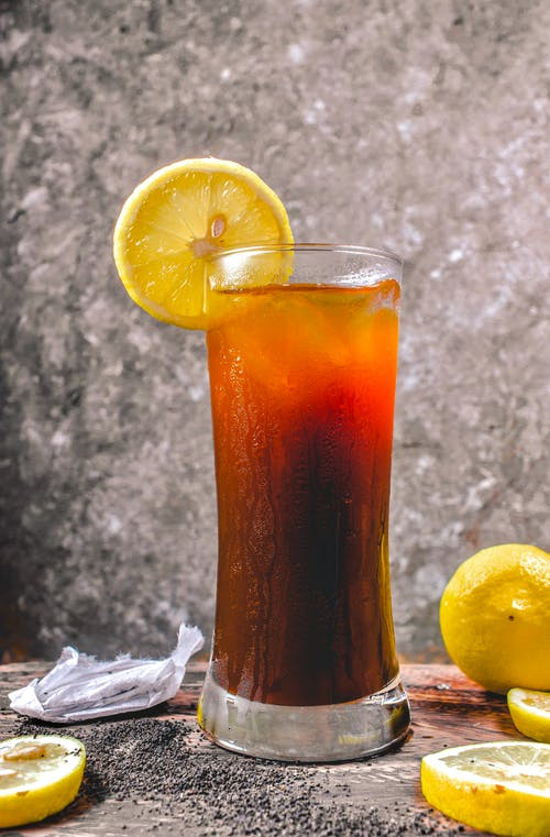 Free stock photo of cold drinks, food, iced tea