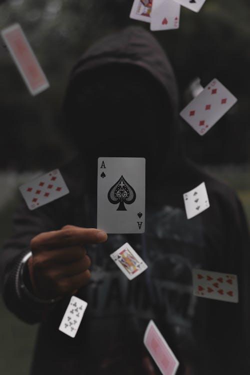 игра, игральные карты, кредитные карты