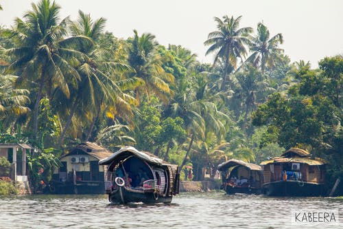 Free stock photo of backwaters, GodsOwnCountry, houseboats