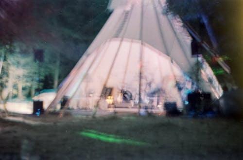 夜間攝影, 帳篷, 戶外, 晚上 的 免费素材照片