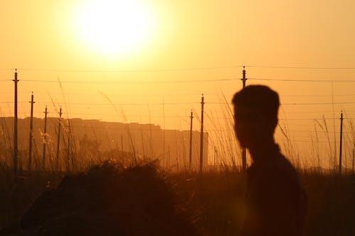Free stock photo of Beautiful sunset, evening sun, sunset sky