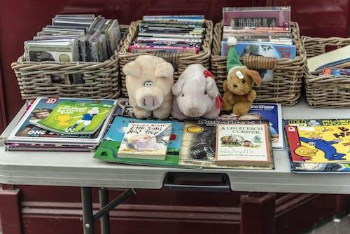 Imagine de stoc gratuită din animale impaiate, cărți, CD-uri