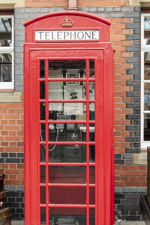 Imagine de stoc gratuită din cabină telefonică, endland, Regatul Unit